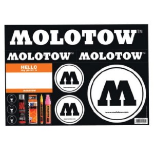 Molotow - Sticker Sheet 2