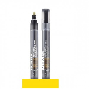 Montana - Acrylic Marker 1000 Yellow Light - 2mm