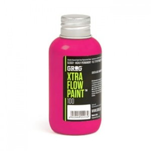 Grog - Xtra Flow Paint 100 Jellyfish Fuchsia - 100ml