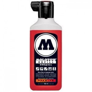 Molotow Refill - One4All 013 Traffic Red - 180ml