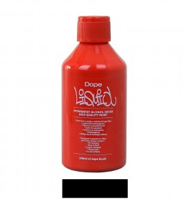 Dope Cans - Liquid Permanent Alko Paint Black - 200ml