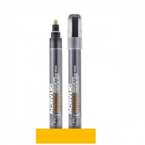 Montana - Acrylic Marker 1010 Yellow - 2mm