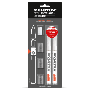 Molotow - Refill Extension 111EM Starter Kit