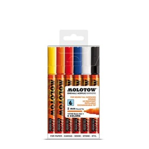 Molotow - One4All 127HS Tryout-Kit Basic Set 1