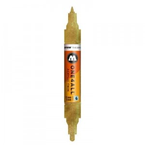 Molotow - One4All Acrylic Twin Metallic Gold 228 - 1,5 mm / 4 mm