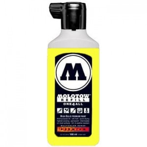 Molotow Refill - One4All 220 Neon Yellow Fluorescent - 180ml