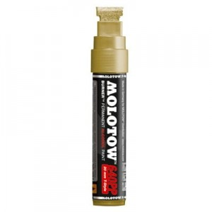 Molotow - Burner Marker 640PP Gold - 20mm