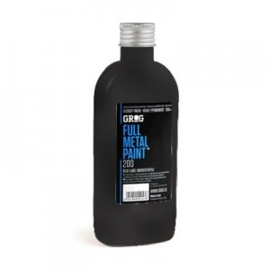 Grog - Full Metal Paint - Death Black - 200ml