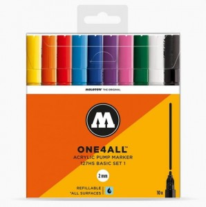 Molotow - One4All 127HS Basic 10 Set 1