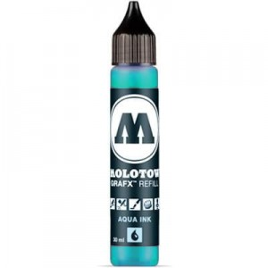 Molotow Refill - Aqua Ink 013 Turquoise - 30ml