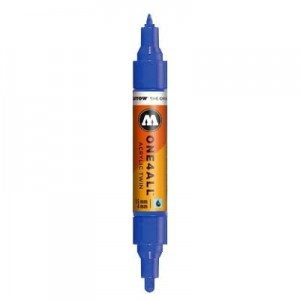 Molotow - One4All Acrylic Twin True Blue 204 - 1,5 mm / 4 mm
