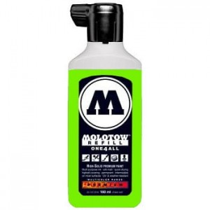 Molotow Refill - One4All 219 Neon Green Fluorescent - 180ml