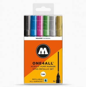 Molotow - One4All 127HS Metallic Set