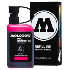 Molotow Refill - Permanent Ink Pink - 25ml