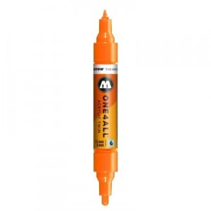 Molotow - One4All Acrylic Twin Dare Orange 085 - 1,5 mm / 4 mm