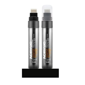 Montana - Acrylic Marker S9000 Shock Black - 15mm