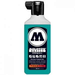 Molotow Refill - One4All 206 Lagoon Blue - 180ml
