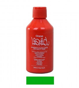 Dope Cans - Liquid Permanent Alko Paint Green - 200ml