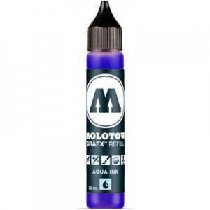 Molotow Refill - Aqua Ink 011 Primary Blue - 30ml