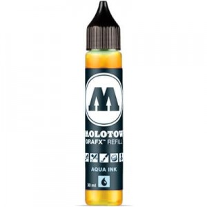 Molotow Refill - Aqua Ink 003 Orange - 30ml