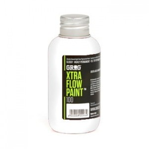 Grog - Xtra Flow Paint 100 Bogota White - 100ml