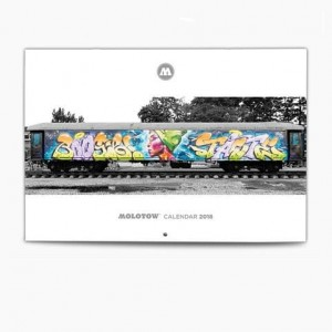 Molotow - Train Calendar 2018