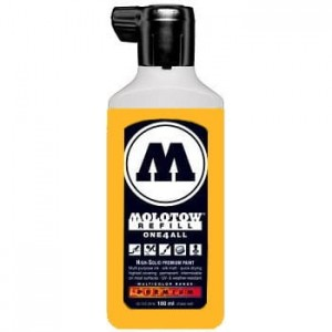 Molotow Refill - One4All 218 Neon Orange Fluorescent - 180ml