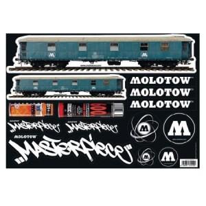 Molotow - Sticker Sheet 3