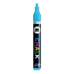 Molotow - Chalk Marker - Neon Blue - 4mm