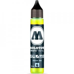 Molotow Refill - Aqua Ink 001 Primary Yellow - 30ml