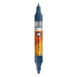 Molotow - One4All Acrylic Twin Petrol 027 - 1,5 mm / 4 mmMolotow - One4All Acrylic Twin Petrol 027 - 1,5 mm / 4 mm