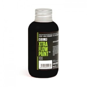 Grog - Xtra Flow Paint 100 Death Black - 100ml