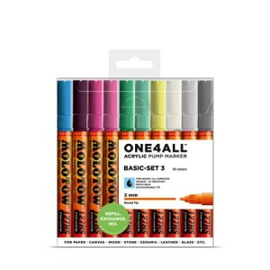 Molotow - One4All 127HS Basic 10 Set 3