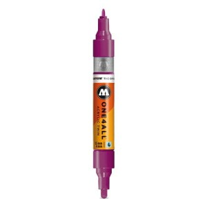 Molotow - One4All Acrylic Twin Purple Violet 233 - 1,5 mm / 4 mm