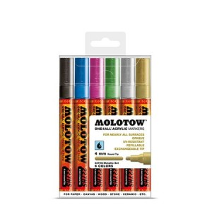 Molotow - One4All 227HS Metallic Set