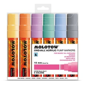 Molotow - One4All 627HS Basic Pastel Set