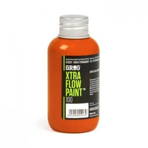 Grog - Xtra Flow Paint 100 Clockwork Orange - 100ml