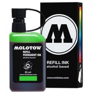 Molotow Refill - Permanent Ink Green - 25ml