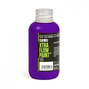 Grog - Xtra Flow Paint 100 Goldrake Purple - 100ml