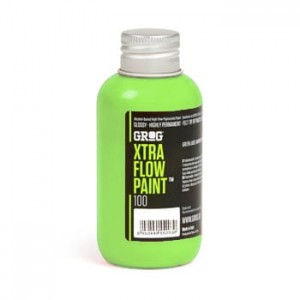 Grog - Xtra Flow Paint 100 Laser Green - 100ml