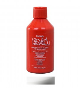 Dope Cans - Liquid Permanent Alko Paint Chrome - 200ml