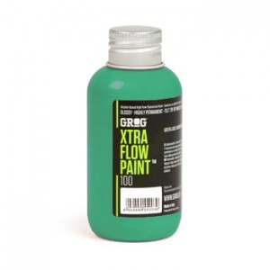 Grog - Xtra Flow Paint 100 Obitory Green - 100ml