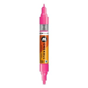 Molotow - One4All Acrylic Twin Neon Pink 200 - 1,5 mm / 4 mm