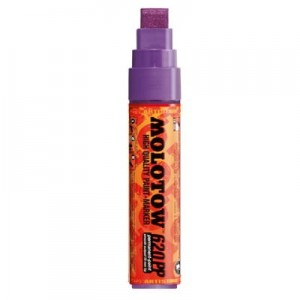 Molotow - Permanent Alcohol Paint 620PP Purple - 15mm