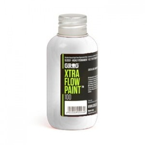 Grog - Xtra Flow Paint 100 Burning Chrome - 100ml
